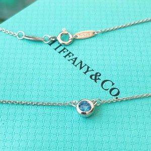 New condition Tiffany & Co. Silver necklace